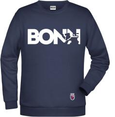 Sweater Navy Bonn Weiß