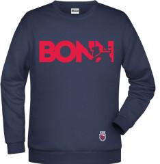 Sweater Navy Bonn Rot