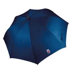 Regenschirm mit 2 Wappen